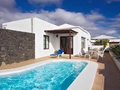 Photo for This charming 3 bedroom villa offers both sea and mountain views and is just a 10 minute walk to the