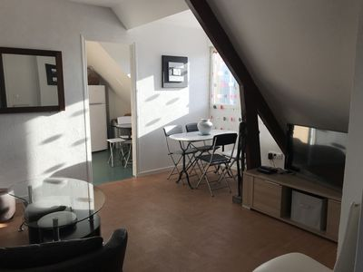 Photo for In the heart of Cabourg, Spacious and bright apartment for 6 pers