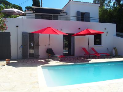 Photo for Pleasant recent house any comfort for 7 persons in Cavalaire