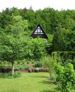 Photo for Sunny hillside location - forest, meadow, river, lake - Everything on the doorstep!