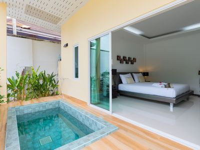 Photo for Bungalow with Private Jacuzzi on Nai Harn Beach