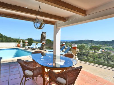 Photo for CHARMING VILLA AND SEA VIEWS IN CASTELL-PLATJA D'ARO