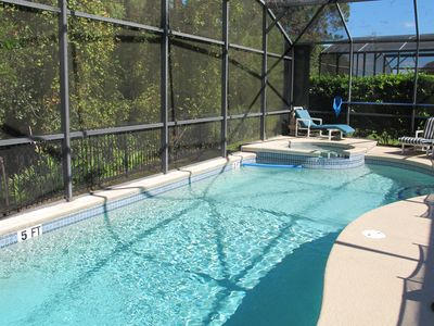 Photo for Emerald Island Resort : pool home, games room near Disney