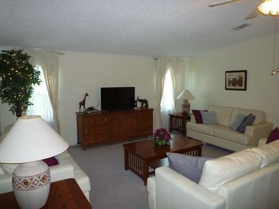 Photo for Private Home, Quiet Secure Lakeside Community, Free Wi Fi,  Disney 5 Ml