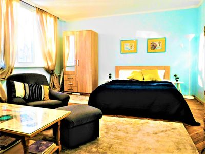 Photo for AuroraVie Grand Sea Apartment - 5 min to Beach & City (5ppl)