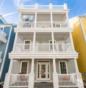 Photo for Beautiful 3 Story Ocean-Block Home For Rent