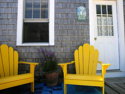 Photo for wharf cottage, private deck, west end beach