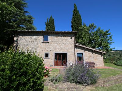 Photo for Character cottage overlooking the Valley of Civita
