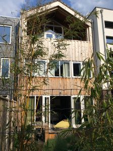 Photo for Wooden house close to Amsterdam, Utrecht, Amersfoort, lakes and nature