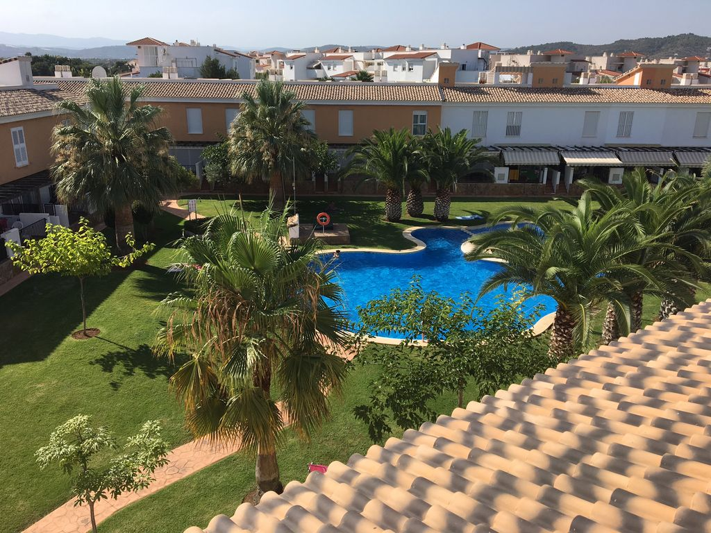 Pin Parasol Distance Maison luxury air-conditioned villa with pool in alcossebre spain