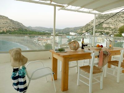 Photo for Bella Vista Matala holiday house with 3 bedrooms