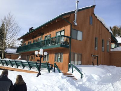 Photo for Best location & deal in Brian Head.  2 story double loft. Across from Skilifts.