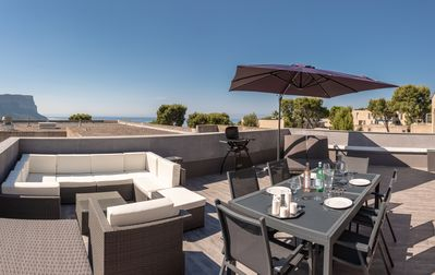 Photo for New apartment sea view Cassis near peninsula, beach, private!