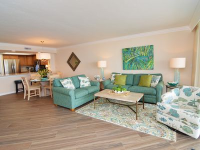 Photo for Last minute specials! Beachfront condo at Sanibel Harbour Resort