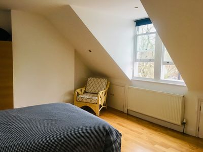 Photo for Large 2 double bedroom top floor flat in West Dulwich