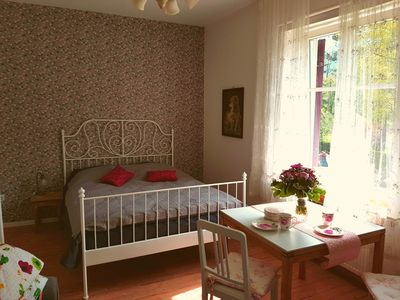 """Photo for Apartment """"Old Rose"""" - new apartment in the heart of Garmisch am Kurpark"""