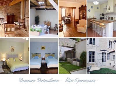 Photo for Charming Residence in the village of VERTEUIL and at the foot of his castle.