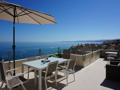 Photo for Brand new beach penthouse with SPA