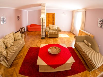 Photo for Cozy villa close to the beach with the sea view