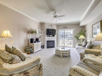 Photo for 1/2-Block from the Beach (79th St) - Outdoor Pool & Ocean View!