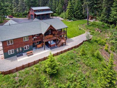 Photo for Incredible Aspen Lodge! Year Round Specials | Hot Tub | Sledding Hill | 5 AC
