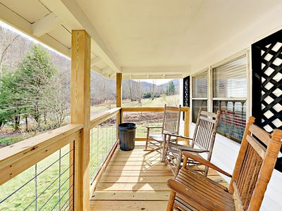 Photo for Newly Renovated Mountain Retreat w/ Outdoor Hammock, Fire Pit & Grill