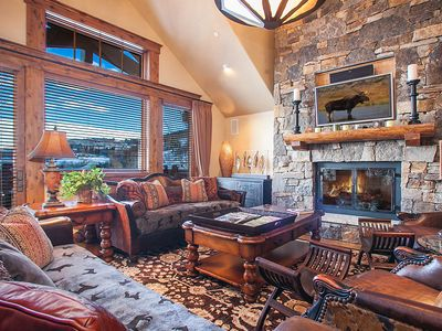 Photo for Firelight Lodge Ski In-Ski Out Bachelor Gulch- Majestic views!