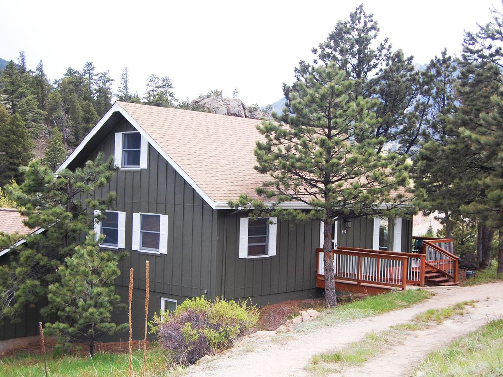 Estes Park CottageSecluded Yet Close HomeAway Carriage Hills - And architectural cottages on secluded private pond homeaway