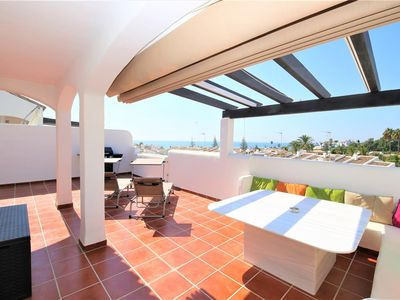 Photo for Beautiful and modern apartment close to the beach, Close to the beach, 4 Km from Estepona town