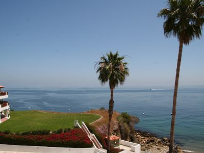 Photo for End Villa, Grandiose Ocean Views, 6 Seat Golf Cart, Close to Pool, WIFI