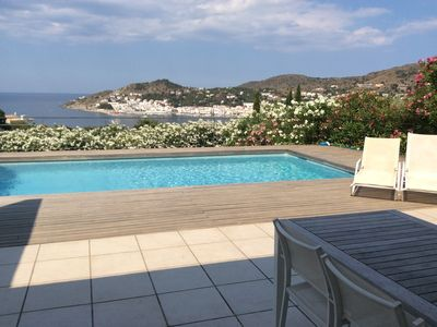 Photo for HOUSE WITH SWIMMING POOL AND EXCELLENT SEA VIEWS