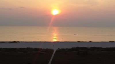 Clearwater Oceanfront Condo.  Private Beach, Sunset Views, Paradise Found!