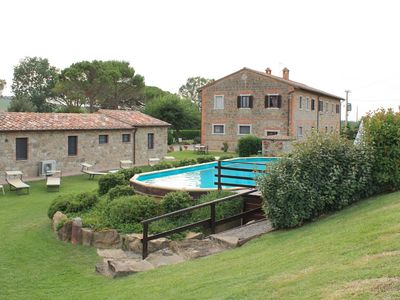 Photo for Villa Vittoria, nestled in the heart of Val d'Orcia, with private pool
