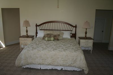 Master Bedroom is total comfort.