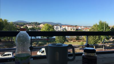 Photo for St Jean de Luz, all on foot. Terrace, very nice view. Renovated entirely
