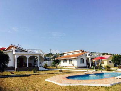 Photo for Beautiful holiday villa with pool (west)