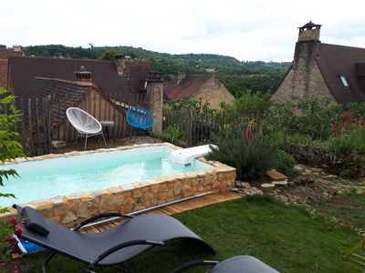 Photo for A romantique pittoresque house located inside the fortified walls of Domme.