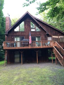 Photo for 4 BR 3BTH Chalet in a Great Location with Easy Access to EVERYTHING!