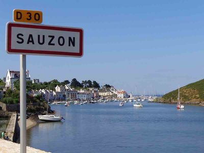 Photo for Apartment with garden 150m from the port of Sauzon, Belle Ile en Mer