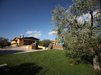 Photo for Detached villa with two independent apartments of swimming pool, whirlpool, park