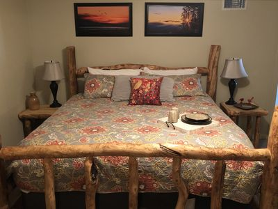 """Photo for New Ravens Off Main """"Aspen Breezes"""",  Two Room Extended Stay Suite, Walk to Town"""