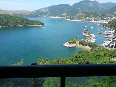 Photo for Ap w / 2 suites, floors polished porcelain, very beautiful. Motto w / Angra dos Reis