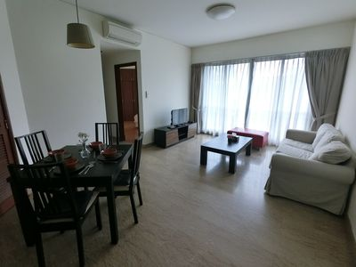 Photo for Amazing Spacious 2 Bedroom Apt Unit @Bugis Center Nearby MRT & Shopping SP2B