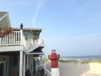 Photo for LBI, Beach Haven Beachfront Paradise-7 Bedrooms