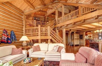 Photo for Keystone Luxury 4 Bedroom Log Home -  Walk to Gondola and River Run Village