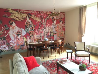 Photo for Bourgeois apartment inspired by fabrics from Mulhouse