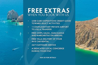 Book your vacation with us and get FREE extras to enjoy during your stay