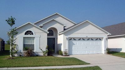 Photo for LUXURY 4 BED 3 BATH VILLA WITH POOL & SPA, CLOSE TO DISNEY AND MANY OTHER PARKS