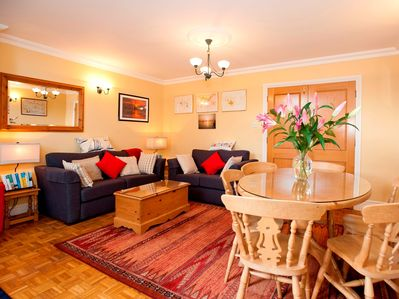 Super living and dining area