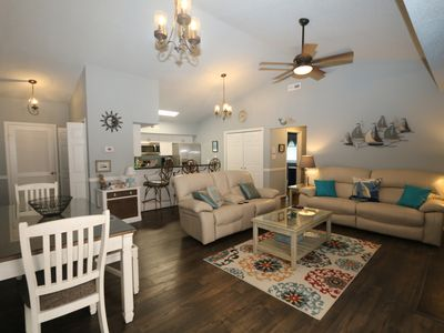 Photo for Reduced and Newly Remodeled Condo 1.5 Blocks from Beach Street USA!